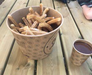Photo of Mega Chuzza Bucket and Mega Choccy Dip